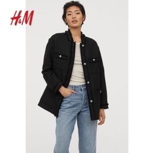 NWT H&M Button Up Jacket